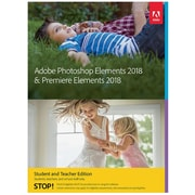Adobe Photoshop Elements 18 & Premiere Elements 18 Student and Teacher Edition (1 User)