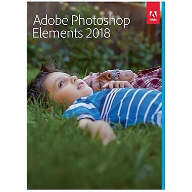Adobe Photoshop Elements 2018 for Windows/Mac (1 User) [Download]