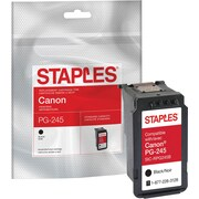 Staples® Reman Black Inkjet Cartridge Canon PG-245 (8279B001)