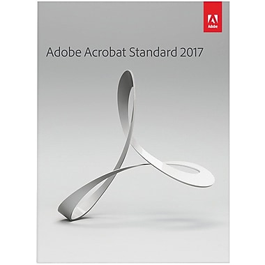 Adobe Acrobat Standard 2017 for Windows (1 User) [Download]