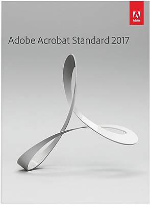 Adobe Acrobat Standard 2017 for Windows (1 User) [Download]