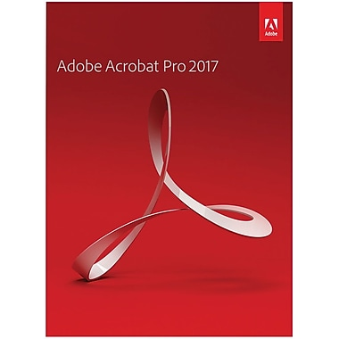 Adobe Acrobat Pro 2017 for Windows (1 User) [Download]