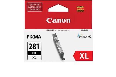 Canon CLI-281XL Black Ink Tank (2037C001), High Yield