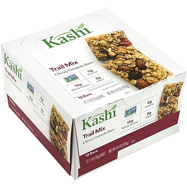 Kashi Trail Mix Chewy Granola Bars 12 Count, 2 Pack (37947)