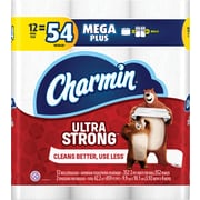 Charmin® Ultra Strong™ Toilet Paper, 2-Ply, 352 Sheets/Roll, 48 Mega Plus Rolls/Carton (99549)
