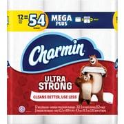 Charmin® Ultra Strong™ Toilet Paper, 2-Ply, 352 Sheets/Roll, 48 Mega Plus Rolls/Carton (99549)