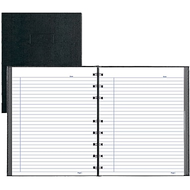Blueline® College Rule NotePro Undated Daily Planner, 9-1/4x7-1/4