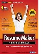 ResumeMaker Professional Deluxe 20 for Windows (1 User) [Download]