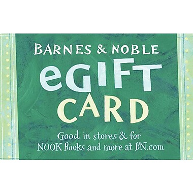 Barnes & Noble Gift Card $50 (Email Delivery)