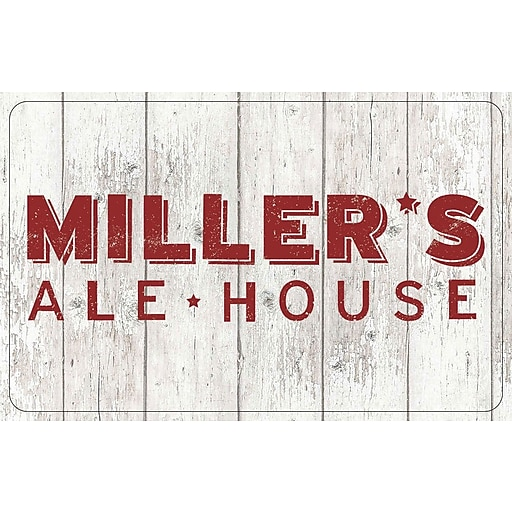 Millers Ale House Gift Card $25