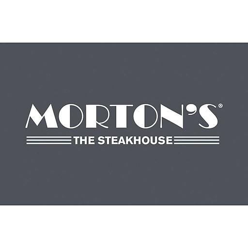 Morton's The Steakhouse Gift Card $100