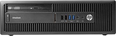 HP EliteDesk 705 G3 SFF Desktop (AMD Ryzen7 Pro 1700X 3.6GHz, 1TB HDD, 8GB DDr4, Win 10 Pro, GFX AMD Radeon R7 430)