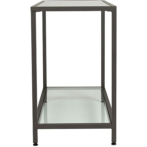 Studio Designs™ Camber Console Table, Pewter/Clear (71001)