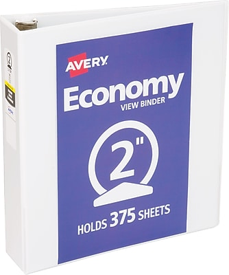 Avery Economy View Binder with 2