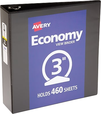 Avery Economy View Binder with 3