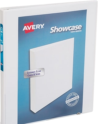 Avery Economy Showcase View Binder with 1/2