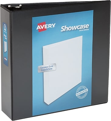 Avery Economy Showcase View Binder with 3