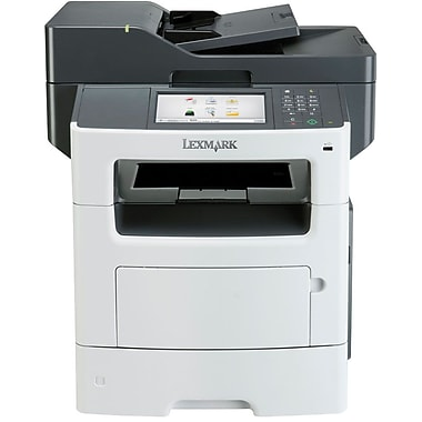 Lexmark MX617de Mono Laser All-in-One Printer, Black
