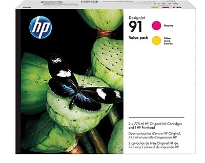 HP 91 Printhead, 91 Magenta/Yellow Value Pack