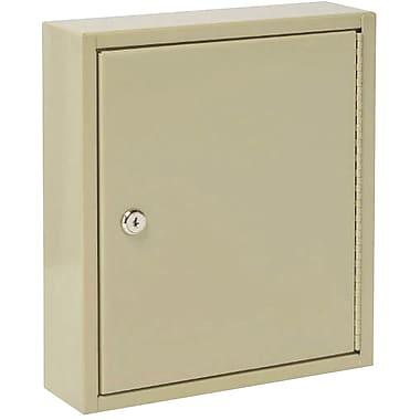 MMF Industries™ STEELMASTER® Uni-Tag® Key Cabinet, 60 Key Capacity, Sand, 12 1/8