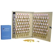 "MMF Industries™ STEELMASTER® Dupli-Key® Two-Tag Cabinet, Sand, 240 Key Capacity, 20 1/8""H x 16 1/2""W x 4 7/8""D"