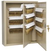 MMF Industries™ STEELMASTER® Uni-Tag® Key Cabinet, Sand, 240 Key Capacity