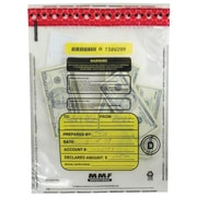 """MMF Industries™ Tamper-Evident Deposit Bags, Clear, 15"""" x 20"""", 250/Box"""