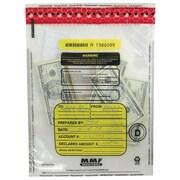 MMF 236-2035-N-20 Tamper-Evident Cash Bag, Clear