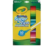 Crayola® Washable Super Tips Markers, 50/Pack