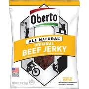 Oberto All Natural Original Beef Jerky, 3.25 oz. 4/Pack