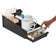 Mind Reader Vesta Coffee Condiment Organizer For 18 K-Cup, Black (ORG01-BLK)