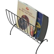 Mind Reader Magazine Wire Rack, Black (MAGWIRE-BLK)