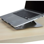 Mind Reader Adjustable Laptop Cooling Stand, Silver, (LCOOLST-SIL)