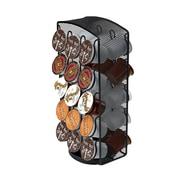 Mind Reader Metal Mesh Coffee Pod Carousel, Holds 30, Black (CRSMESH-BLK)
