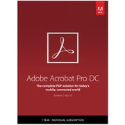 Adobe Acrobat Professional DC for Windows/Mac (1 User) [Download]
