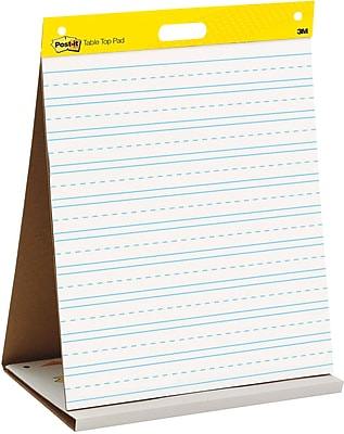Post-it® Super Sticky Table-top Easel Pad, 20