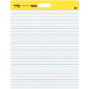 "Post-it® Super Sticky Self-Stick Wall Pads, 20""x23"", White,  Lined, 2/Pack (566PRL)"