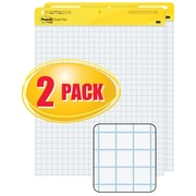 "Post-it® Easel Pad, 25"" x 30"", Faint Blue Grid, White, 2/PK, (560)"