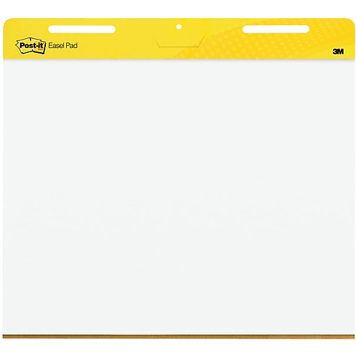 Post it super sticky 25 1 2 x 30 landscape easel pads white 2