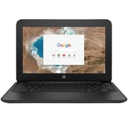 "HP CHROMEBOOK 11 G5 1FX82UT 11.6"" Chromebook, LED, Intel Celeron® N3060, 16GB Flash, 4GB RAM, Chrome OS, Black"