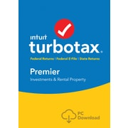 TurboTax Premier Fed + Efile + State 2017 for Windows (1 User) [Download]