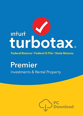 TurboTax Premier Fed + Efile + State 2017 for Windows (1 User) [Download]