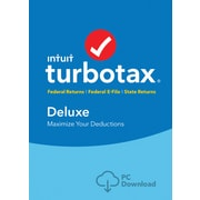 TurboTax Deluxe Fed + Efile + State 2017 for Windows (1 User) [Download]