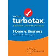 TurboTax Home & Bus Fed+Efile+State 2017 for Windows (1 User) [Download]