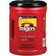 Folgers® Classic Roast Ground Coffee, Caffeinated, Medium, 48 Oz.