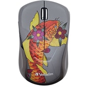 Verbatim Wireless Multi-trac Blue LED Mouse (koi)