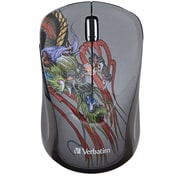Verbatim Wireless Multi-trac Blue LED Mouse (dragon)