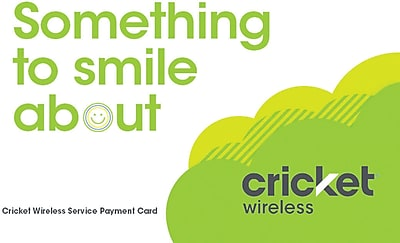 Cricket Wireless Refill Prepaid Airtime Card $70
