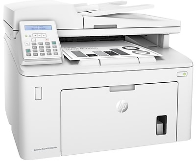 HP LaserJet Pro M227fdn Laser Multifunction Printer, Monochrome, Plain Paper Print, Desktop