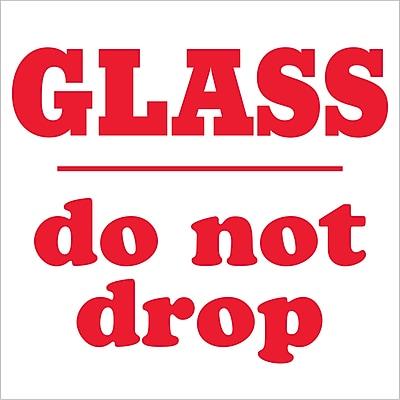 Tape Logic Glass - Do Not Drop Shipping Label, 3